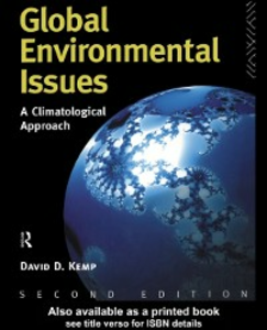 Ebook in inglese Global Environmental Issues Kemp, David