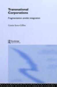 Ebook in inglese Transnational Corporations Ietto-Gillies, Grazia