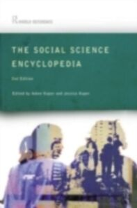 Ebook in inglese Social Science Encyclopedia -, -