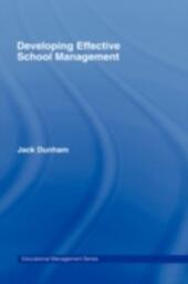 Developing Effective School Management