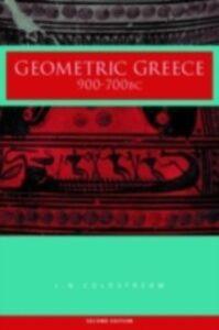 Ebook in inglese Geometric Greece Coldstream, J.N