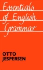 Ebook in inglese Essentials of English Grammar Jespersen, Otto