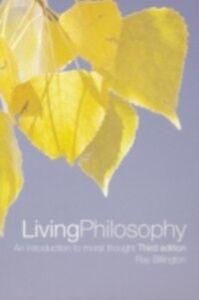 Foto Cover di Living Philosophy, Ebook inglese di Ray Billington, edito da Taylor and Francis