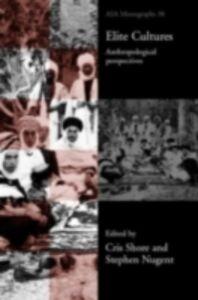 Ebook in inglese Elite Cultures