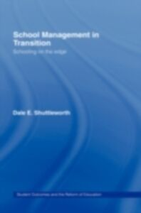 Foto Cover di School Management in Transition, Ebook inglese di Dale Shuttleworth, edito da Taylor and Francis