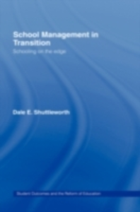 Ebook in inglese School Management in Transition Shuttleworth, Dale