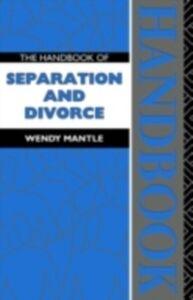 Ebook in inglese Handbook of Separation and Divorce Mantle, Wendy