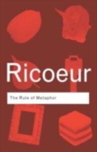 Foto Cover di Rule of Metaphor, Ebook inglese di Paul Ricoeur, edito da Taylor and Francis