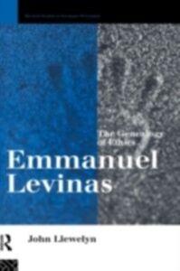 Ebook in inglese Emmanuel Levinas Llewelyn, John