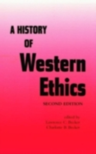 Ebook in inglese History of Western Ethics -, -