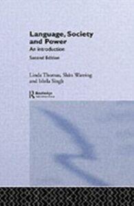 Foto Cover di Language, Society and Power, Ebook inglese di AA.VV edito da Taylor and Francis