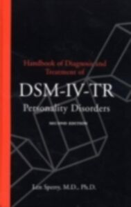 Ebook in inglese Handbook of Diagnosis and Treatment of DSM-IV Personality Disorders Sperry, Len