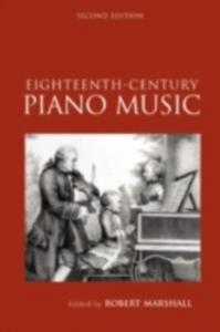 Ebook in inglese Eighteenth-Century Keyboard Music -, -
