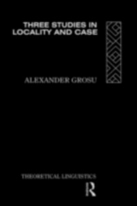 Ebook in inglese Three Studies in Locality and Case Grosu, Alexander