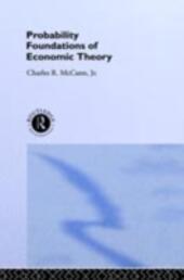 Probability Foundations of Economic Theory