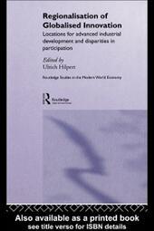 Regionalisation of Globalised Innovation