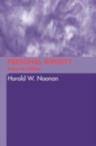Ebook in inglese Personal Identity Noonan, Harold W.