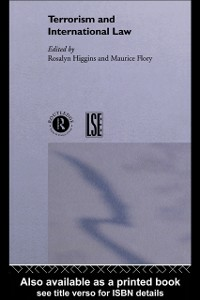 Ebook in inglese Terrorism and International Law -, -