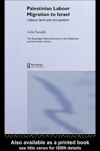Ebook in inglese Palestinian Labour Migration to Israel Farsakh, Leila