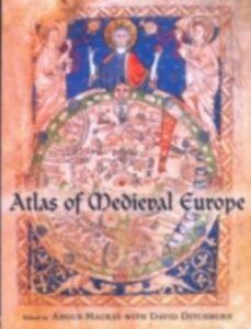 Foto Cover di Atlas of Medieval Europe, Ebook inglese di  edito da Taylor and Francis