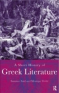 Ebook in inglese Short History of Greek Literature Said, Suzanne , Trede, Monique