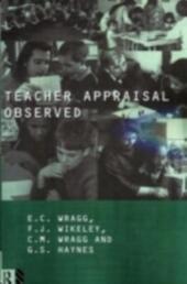 Teacher Appraisal Observed