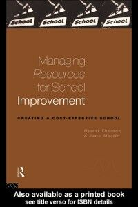Ebook in inglese Managing Resources for School Improvement Martin, Jane , Nfa, Jane Martin , Thomas, Hywel