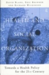 Health and Social Organization
