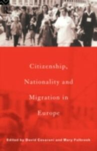 Ebook in inglese Citizenship, Nationality and Migration in Europe