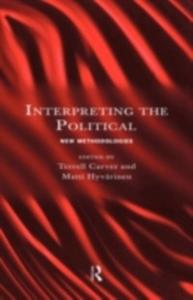 Ebook in inglese Interpreting the Political -, -