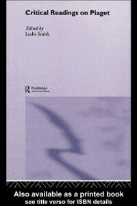 Ebook in inglese Critical Readings on Piaget -, -