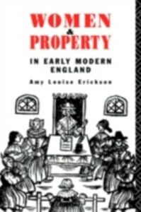 Ebook in inglese Women and Property Erickson, Amy Louise