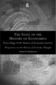 Ebook in inglese State of the History of Economics -, -