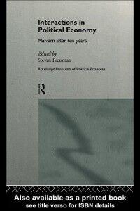 Foto Cover di Interactions in Political Economy, Ebook inglese di  edito da Taylor and Francis