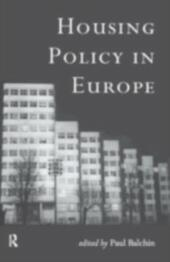 Housing Policy in Europe