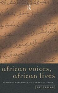 Ebook in inglese African Voices, African Lives -, -