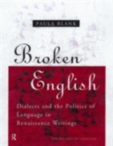 Ebook in inglese Broken English Blank, Paula