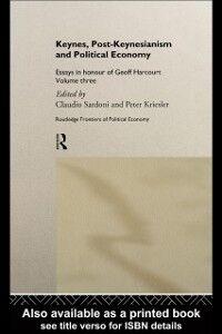 Foto Cover di Keynes, Post-Keynesianism and Political Economy, Ebook inglese di  edito da Taylor and Francis