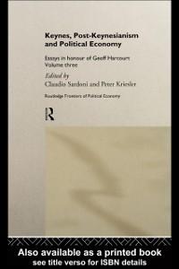 Ebook in inglese Keynes, Post-Keynesianism and Political Economy -, -