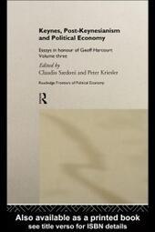 Keynes, Post-Keynesianism and Political Economy