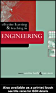 Ebook in inglese Effective Learning and Teaching in Engineering