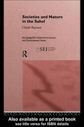 Societies and Nature in the Sahel