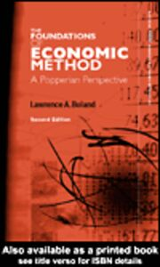 Ebook in inglese Foundations of Economic Method Boland, Lawrence