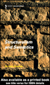 Ebook in inglese Structuralism and Semiotics Hawkes, Terence