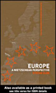 Foto Cover di Europe, Ebook inglese di Stefan Elbe, edito da