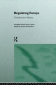 Foto Cover di Regulating Europe, Ebook inglese di  edito da Taylor and Francis