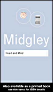 Ebook in inglese Heart and Mind Midgley, Mary