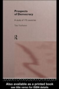 Ebook in inglese Prospects of Democracy Vanhanen, Tatu