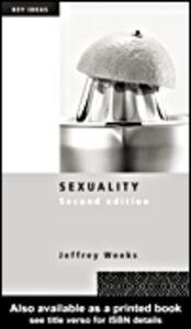 Ebook in inglese Sexuality Weeks, Jeffrey