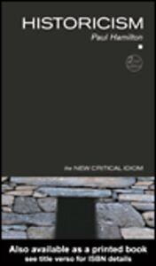 Ebook in inglese Historicism Hamilton, Paul